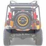 Bumper-Trasero-Eje-Ajustable-Requiere-soporte-Llanta-5295-Jeep-JK-2395-Wrangler-Body-Armor-4×4-kdms